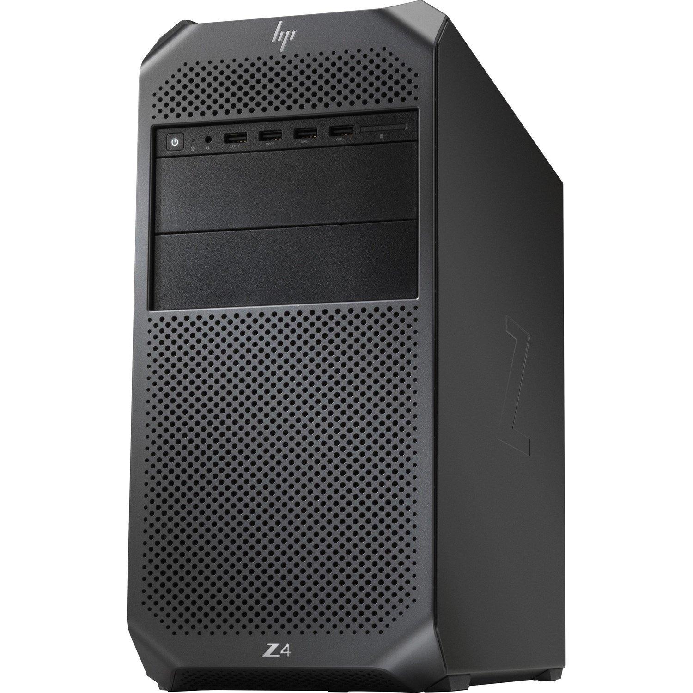 HP Z4 G4 Workstation - 1 x Intel Core X-Series Dodeca-core (12 Core) i9-10920X 10th Gen 3.50 GHz - 64 GB DDR4 SDRAM RAM - 2 TB HDD - 1 TB SSD - Mini-tower - Black