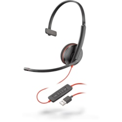 Poly Blackwire 3210 Wired Over-the-head Mono Headset
