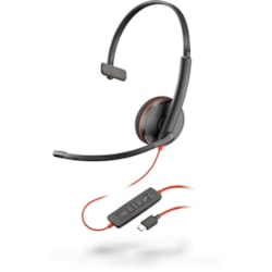 Plantronics Blackwire C3215 Wired Over-the-head Mono Headset