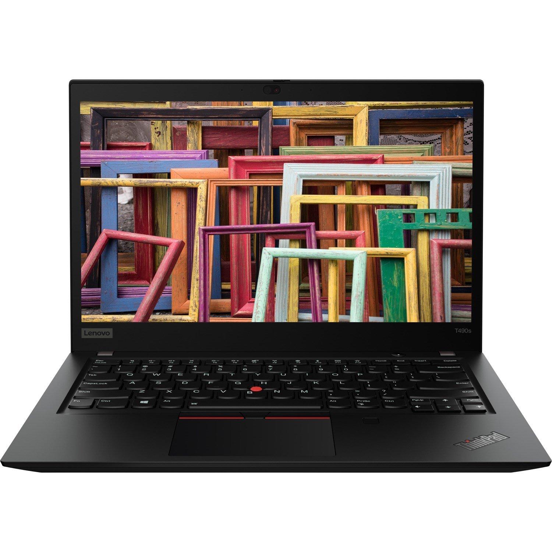 "Lenovo ThinkPad T490s 20NXS00V00 35.6 cm (14"") Notebook - 1920 x 1080 - Intel Core i5 (8th Gen) i5-8265U Quad-core (4 Core) 1.60 GHz - 8 GB RAM - 512 GB SSD - Black"