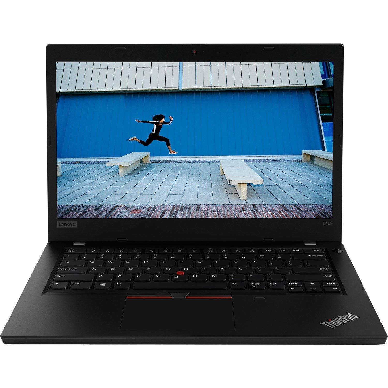 """Lenovo ThinkPad L490 20Q5S01100 35.6 cm (14"""") Notebook - 1920 x 1080 - Intel Core i5 (8th Gen) i5-8265U Quad-core (4 Core) 1.60 GHz - 8 GB RAM - 512 GB SSD"""