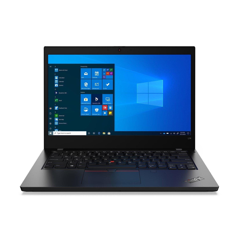"""Lenovo ThinkPad L14 Gen1 20U10019AU 35.6 cm (14"""") Notebook - Full HD - 1920 x 1080 - Intel Core i5 (10th Gen) i5-10210U Quad-core (4 Core) 1.60 GHz - 16 GB RAM - 256 GB SSD - Black"""