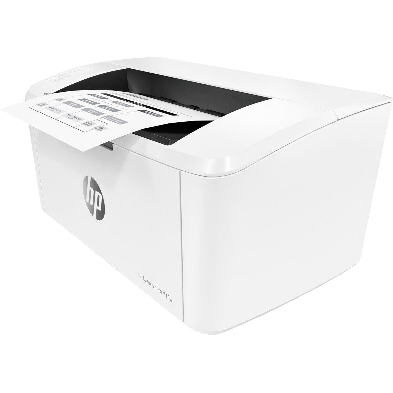 HP LaserJet Pro M15 M15w Desktop Laser Printer - Monochrome