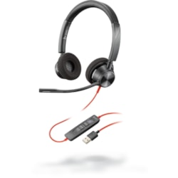 Plantronics Blackwire BW3320-M USB-A Wired Over-the-head Stereo Headset