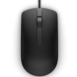 Dell MS116 Mouse - USB - Optical - 2 Button(s) - Black