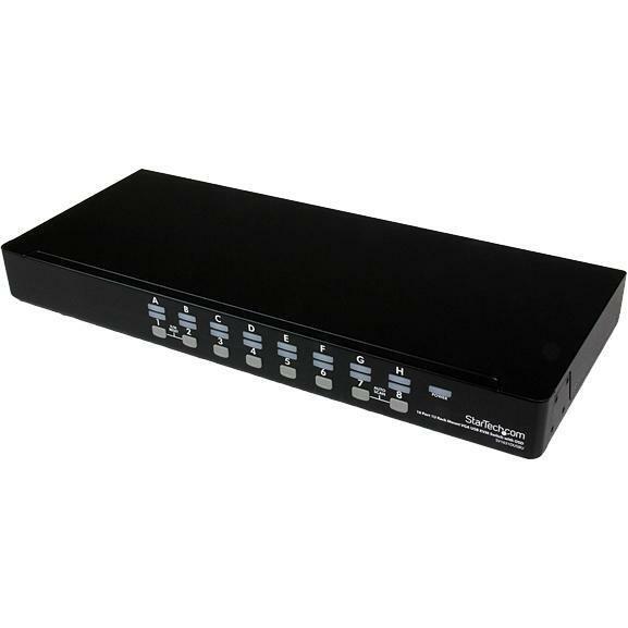 StarTech.com SV1631DUSBUK KVM Switchbox - TAA Compliant
