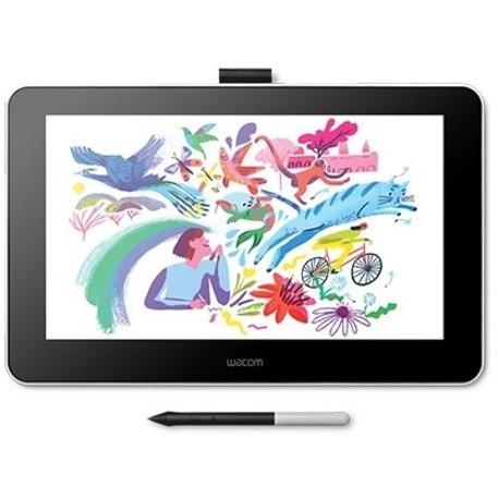 "Wacom One DTC133W0C Graphics Tablet - 33.8 cm (13.3"") - 2540 lpi - Cable"