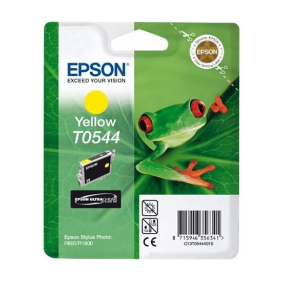 Epson T0544 Original Ink Cartridge - Yellow