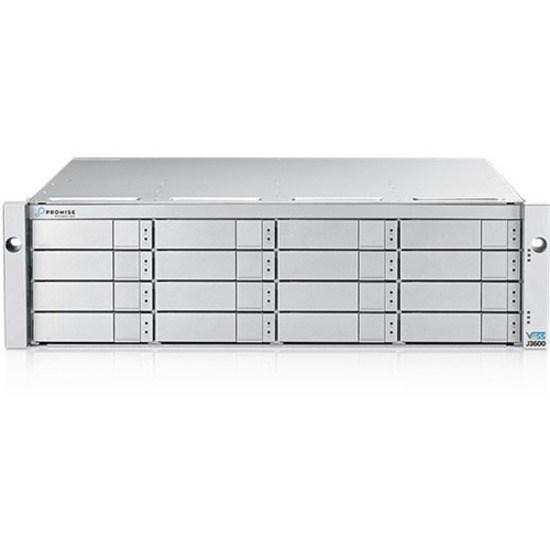 Promise Vess J3600SS Drive Enclosure - 12Gb/s SAS Host Interface - 3U Rack-mountable - Silver