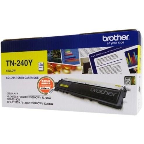 Brother TN-240Y Original Toner Cartridge - Yellow