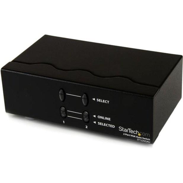 StarTech.com ST122VGAU Video Switchbox - TAA Compliant