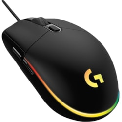 Logitech G203 Gaming Mouse - USB - 6 Button(s) - Black - 1 Pack