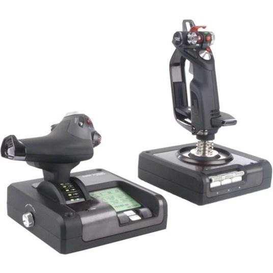 Saitek H.O.T.A.S. X52 Gaming Joystick, Gaming Throttle