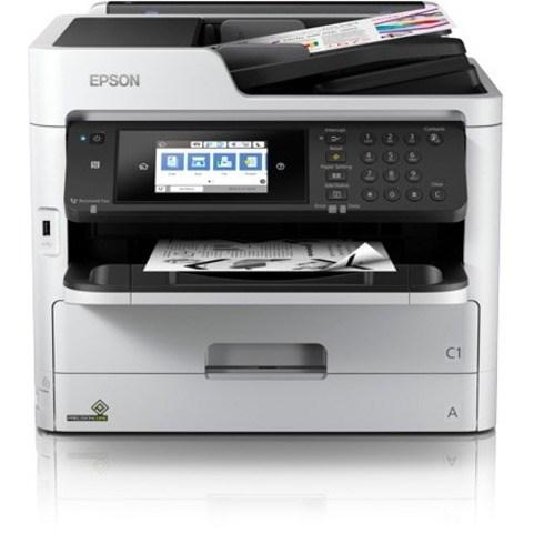 Epson WorkForce Pro WF-M5799 Wireless Inkjet Multifunction Printer - Monochrome