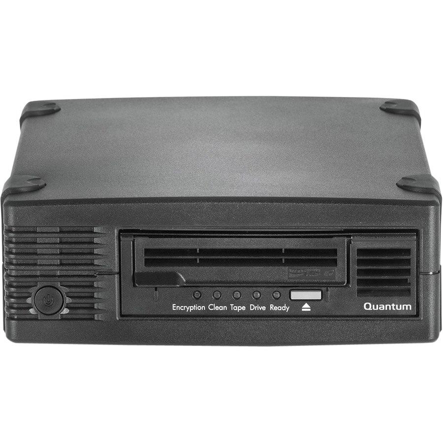 Quantum TC-L63CN-AR LTO-6 Tape Drive - 2.50 TB (Native)/6.25 TB (Compressed) - Black