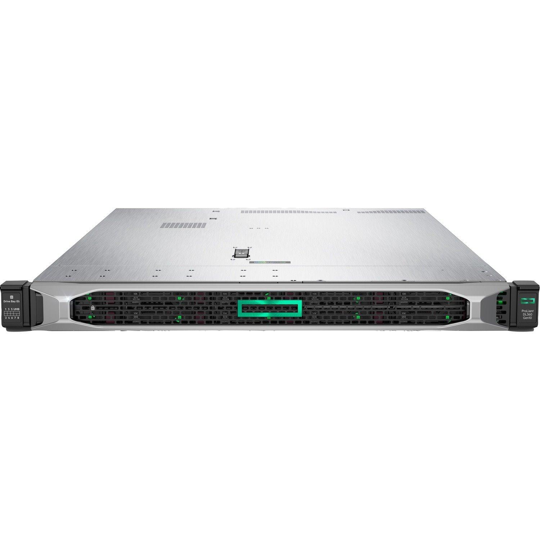 HPE ProLiant DL360 G10 1U Rack Server - 1 x Intel Xeon Silver 4210R 2.40 GHz - 16 GB RAM - Serial ATA/600, 12Gb/s SAS Controller
