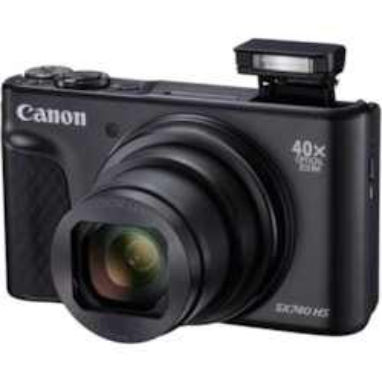 Canon PowerShot SX740 HS 20.3 Megapixel Compact Camera - Black