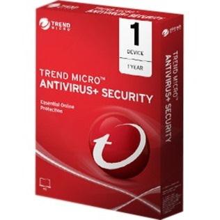 Trend Micro AntiVirus + Security 2020 - Box Pack - 1 User