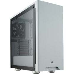 Corsair Carbide 275R Computer Case - ATX, Micro ATX, Mini ITX Motherboard Supported - Mid-tower - Steel, Plastic, Tempered Glass - White