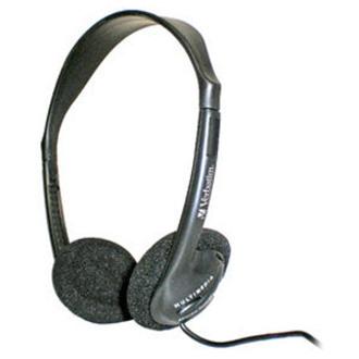 Verbatim Wired Over-the-head Binaural Stereo Headphone