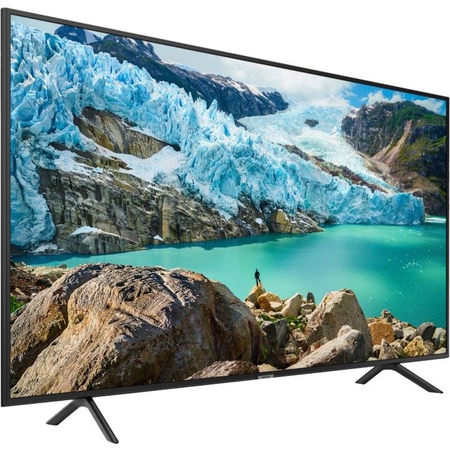 "Samsung RU710 HG55RU710NF 54.6"" LED-LCD TV - 4K UHDTV - Charcoal Black"