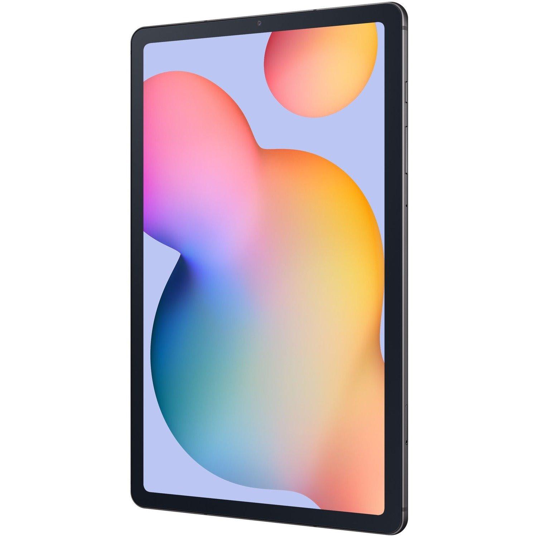 "Samsung Galaxy Tab S6 Lite SM-P615 Tablet - 26.4 cm (10.4"") - ARM Cortex A73 Quad-core (4 Core) 2.30 GHz - 4 GB RAM - 128 GB Storage - Android 10 - 4G - Oxford Gray"