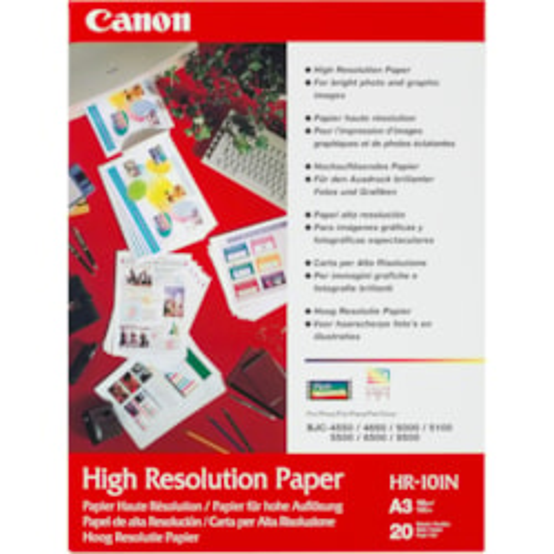 Canon HR-101N Inkjet High Resolution Paper