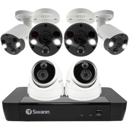 Swann 8 Channel Night Vision Wired Video Surveillance System 2 TB HDD