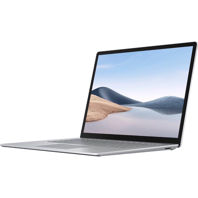 "Microsoft Surface Laptop 4 15"" Touchscreen Notebook - 2496 x 1664 - Intel Core i7 11th Gen i7-1185G7 Quad-core (4 Core) - 16 GB RAM - 512 GB SSD - Platinum"