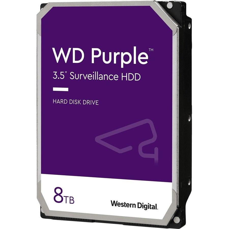 """WD Purple WD82PURZ 8 TB Hard Drive - 3.5"""" Internal - SATA (SATA/600)"""