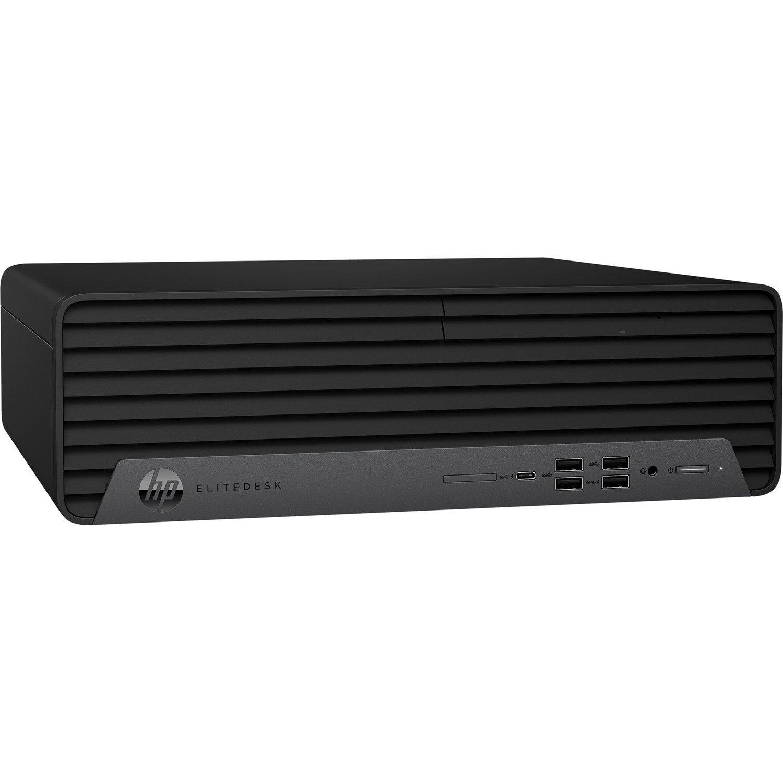 HP EliteDesk 800 G6 Desktop Computer - Intel Core i7 10th Gen i7-10700 Octa-core (8 Core) 2.90 GHz - 16 GB RAM DDR4 SDRAM - 512 GB SSD - Small Form Factor