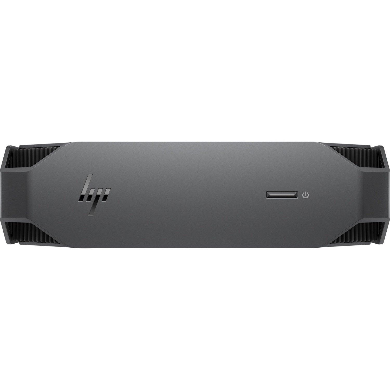 HP Z2 Mini G5 Workstation - 1 x Intel Xeon Hexa-core (6 Core) W-1250 3.30 GHz - 32 GB DDR4 SDRAM RAM - 1 TB HDD - 512 GB SSD - Mini PC