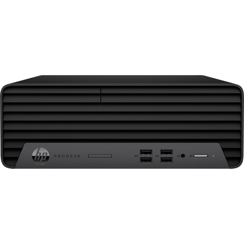 HP Business Desktop ProDesk 400 G7 Desktop Computer - Intel Core i3 10th Gen i3-10100 Quad-core (4 Core) 3.60 GHz - 8 GB RAM DDR4 SDRAM - 256 GB SSD - Small Form Factor