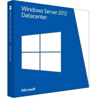 Microsoft Windows Server 2012 R.2 Datacenter 64-bit - License and Media - 2 Processor - OEM