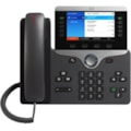 Cisco 8851 IP Phone - Corded/Cordless - Corded - Bluetooth - Wall Mountable - Charcoal