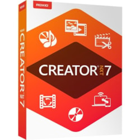 Roxio Creator NXT v.7.0 - Box Pack - 1 User - Mini Box Packing
