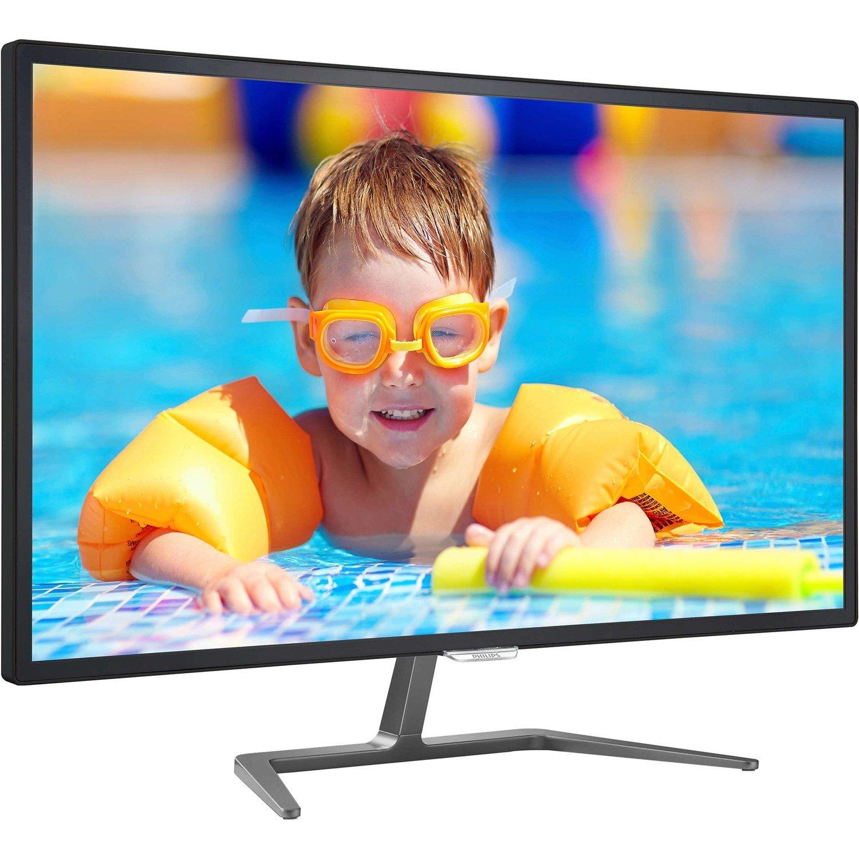"Philips E-line 323E7QDAB 81.3 cm (32"") Full HD LED LCD Monitor - 16:9 - Glossy Black"