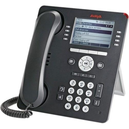 Avaya 9508 IP Phone - Wall Mountable, Desktop - Charcoal Grey