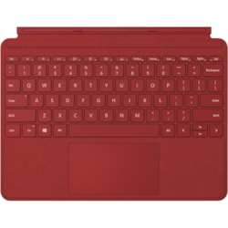 Microsoft Type Cover Keyboard/Cover Case Microsoft Surface Go 2, Surface Go Tablet - Poppy Red