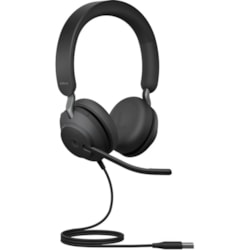 Jabra Evolve2 40 Wired Over-the-head Stereo Headset