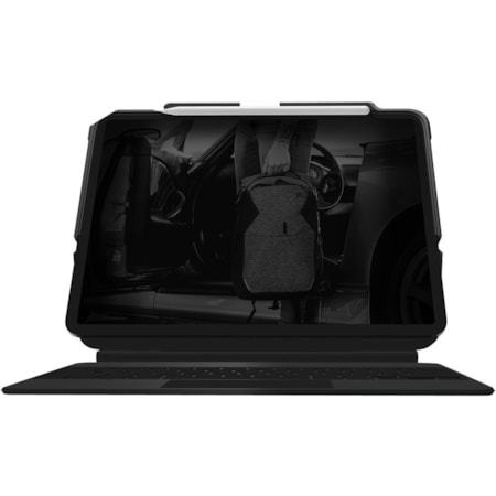 """STM Goods Dux Rugged Carrying Case (Folio) for 32.8 cm (12.9"""") Apple iPad Pro (3rd Generation), iPad Pro (4th Generation) Tablet - Black"""
