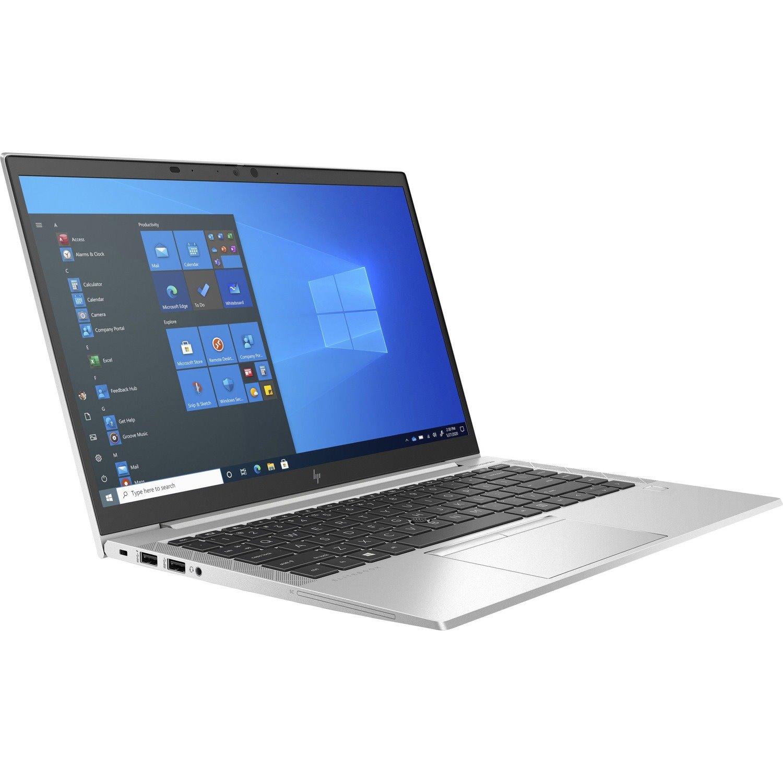"HP EliteBook 840 G8 35.6 cm (14"") Notebook - Full HD - 1920 x 1080 - Intel Core i5 (11th Gen) i5-1135G7 Quad-core (4 Core) 2.40 GHz - 8 GB RAM - 256 GB SSD"