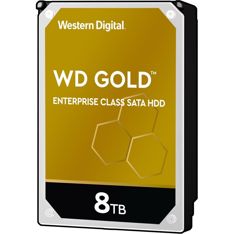 "WD Gold WD8004FRYZ 8 TB Hard Drive - 3.5"" Internal - SATA (SATA/600)"