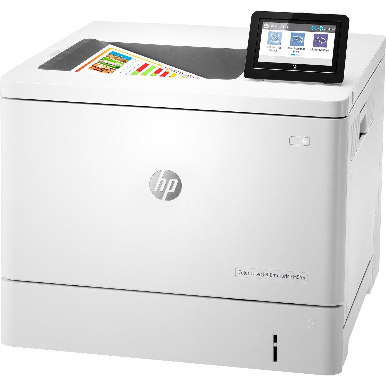 HP LaserJet Enterprise M555 M555dn Desktop Laser Printer - Colour