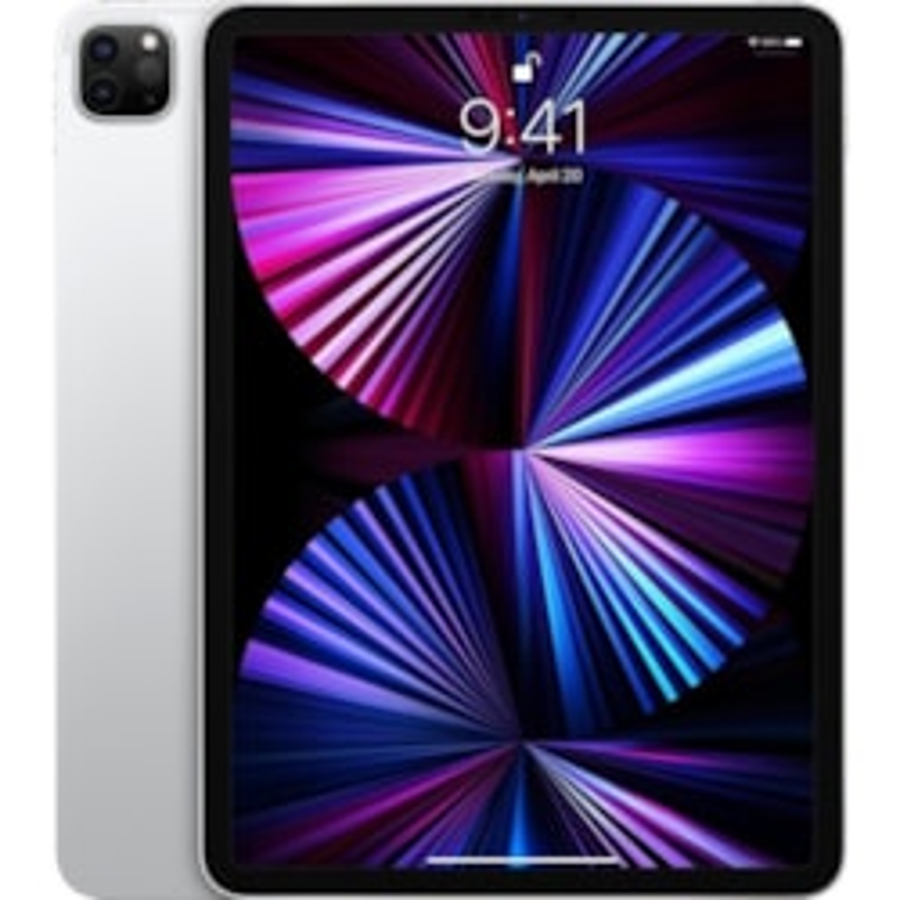 "Apple iPad Pro (3rd Generation) Tablet - 27.9 cm (11"") - Apple M1 Octa-core (8 Core) - 16 GB RAM - 1 TB Storage - iPadOS 14 - Silver"