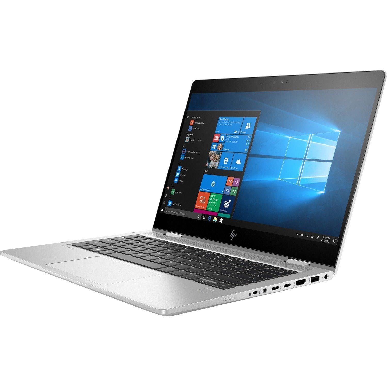 """HP EliteBook x360 830 G6 33.8 cm (13.3"""") Touchscreen 2 in 1 Notebook - 1920 x 1080 - Intel Core i7 (8th Gen) i7-8565U Quad-core (4 Core) 1.80 GHz - 8 GB RAM - 256 GB SSD"""