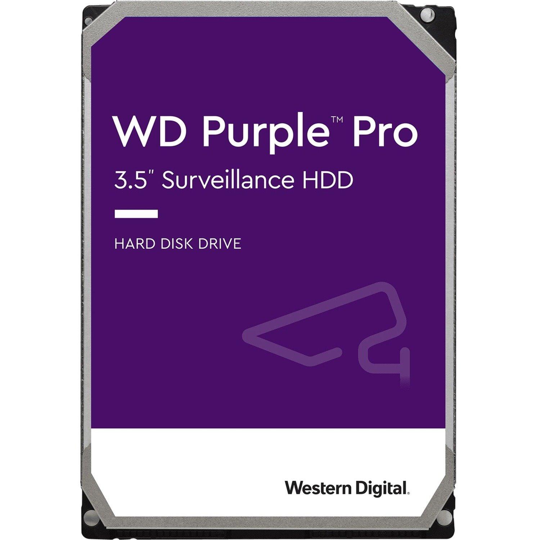 "WD Purple Pro WD141PURP 14 TB Hard Drive - 3.5"" Internal - SATA (SATA/600) - Conventional Magnetic Recording (CMR) Method"