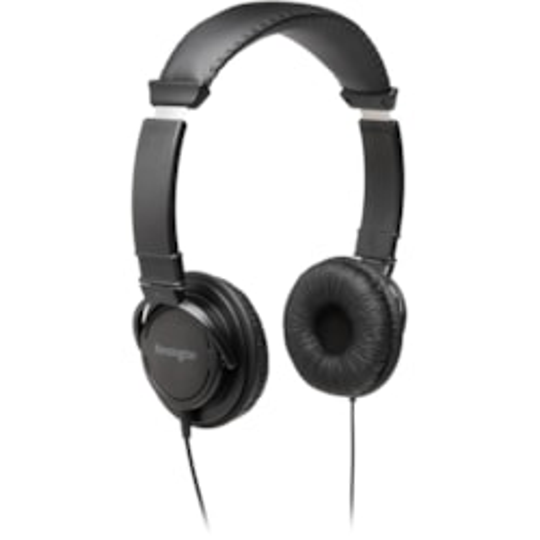 Kensington Wired Over-the-head Binaural Stereo Headphone - Black