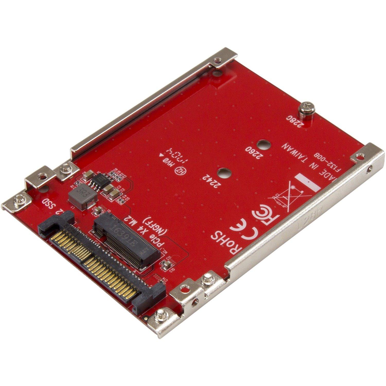 StarTech.com M.2 to U.2 Adapter - TAA Compliant