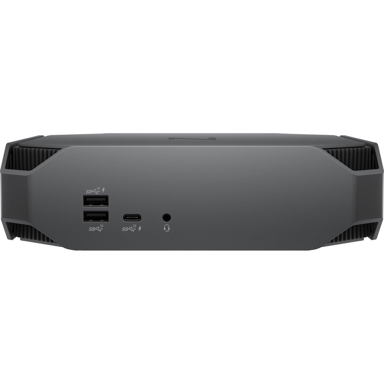 HP Z2 Mini G5 Workstation - 1 x Intel Core i9 Octa-core (8 Core) i9-9900 9th Gen 3.10 GHz - 32 GB DDR4 SDRAM RAM - 1 TB HDD - 512 GB SSD - Mini PC